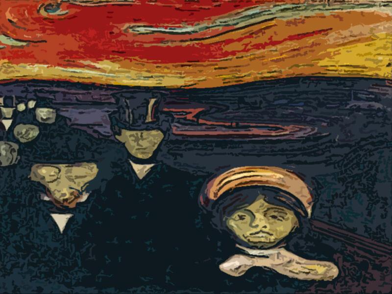 Ansia - Edvard Munch 1894