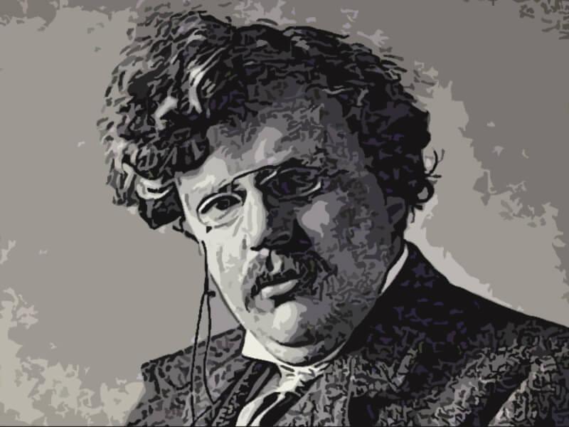 Gilbert Keith Chesterton aforismi