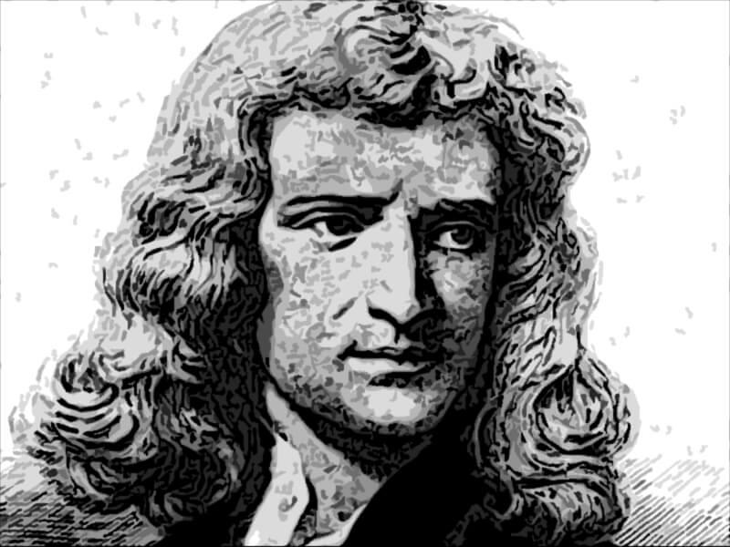 Isacco Newton frasi famose
