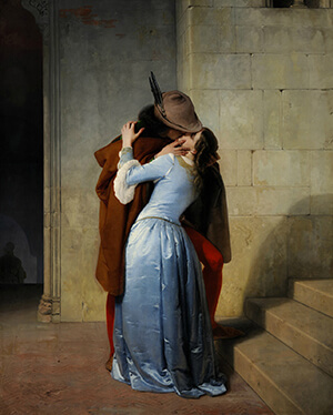 Il bacio Francesco Hayez 1859