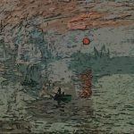 Impressione levar del sole - Claude Monet 1872
