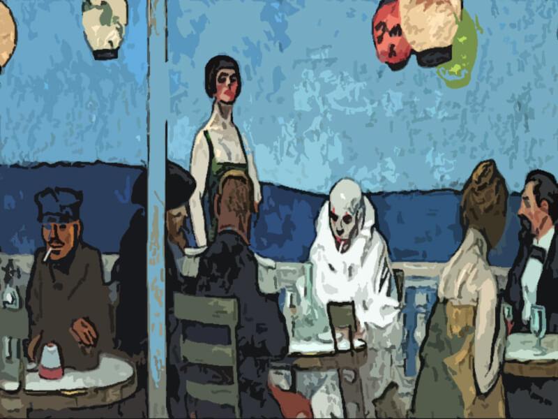 Sera blu - Edward Hopper 1914