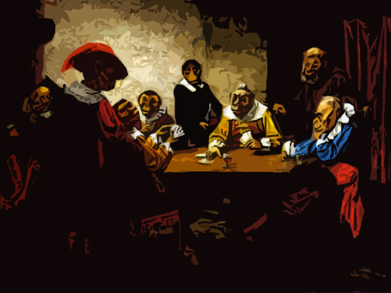 Quadro fortuna al poker The Poker Game - William Holbrook Beard