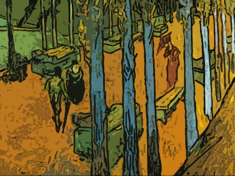 autunno Van Gogh 1888