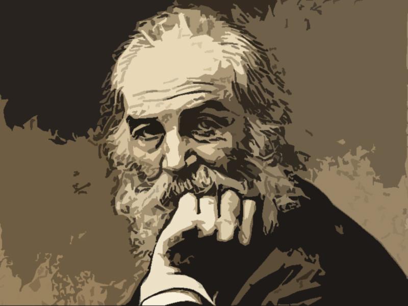Walt Whitman Frasi Famose