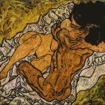 L'abbraccio - Egon Schiele 1917