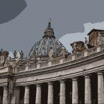 Colonnato basilica san pietro roma