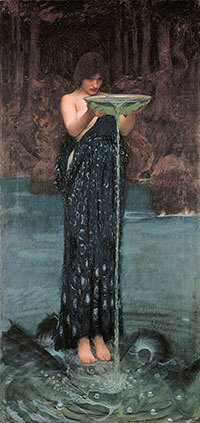 Circe invidiosa - John William Waterhouse 1892