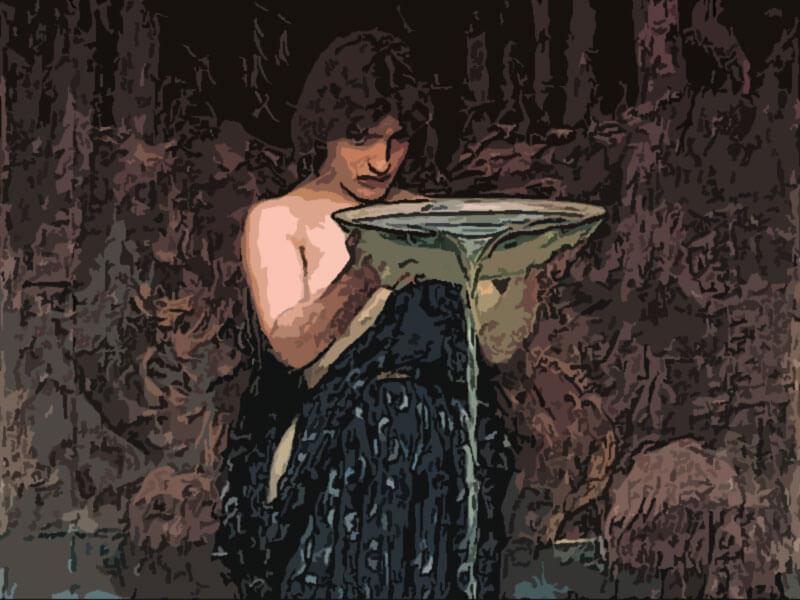Circe invidiosa - John William Waterhouse 1892