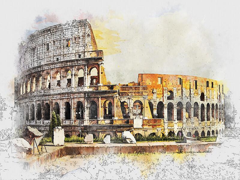 antico colosseo roma