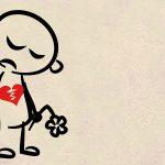 cuore infranto per amore non corrisposto