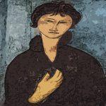 Donna dagli occhi azzurri - Amedeo Modigliani 1918