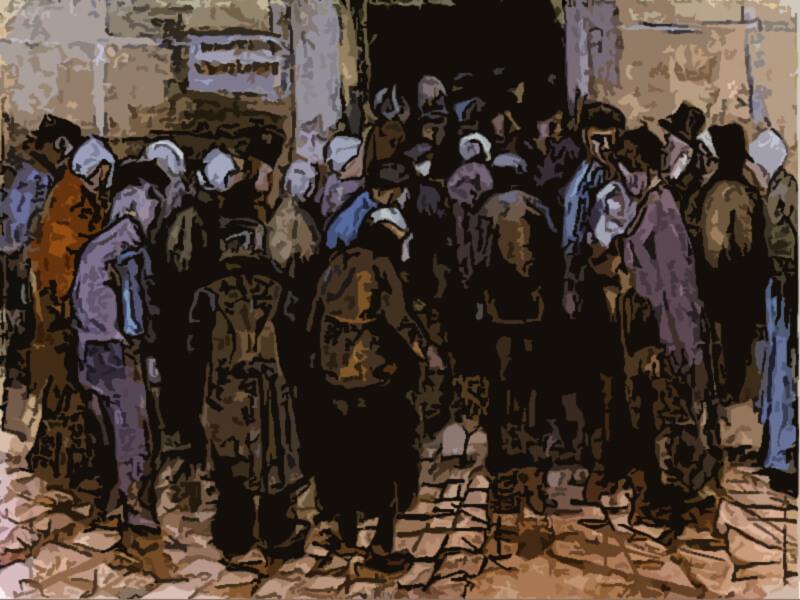 i poveri e il denaro - Vincent Van Gogh 1883