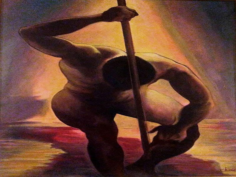 La forza - Lorenzo Chinnici pittore 2001