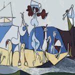 Quadro la gioia di vivere Picasso