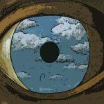 il falso specchio - René Magritte 1928