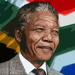 Nelson Mandela famoso attivista sudamericano