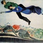 over the town marc chagall 1913