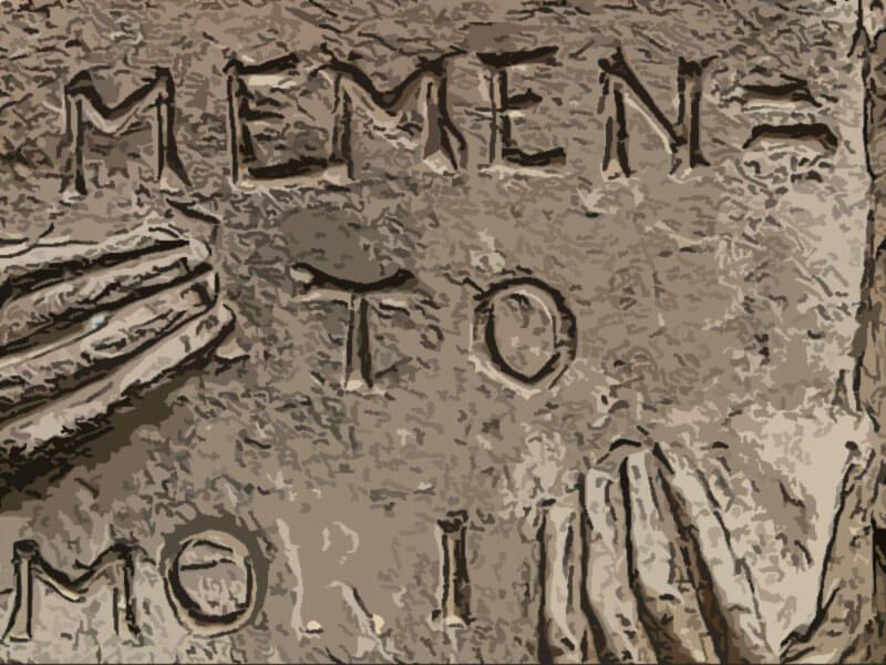 proverbio latino memento mori
