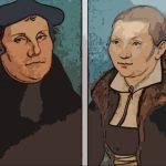 Martin Lutero e Katherina Van Bore - Lukas Cranach il vecchio 1529
