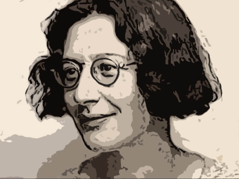 Simone Weil celebre filosofa francese