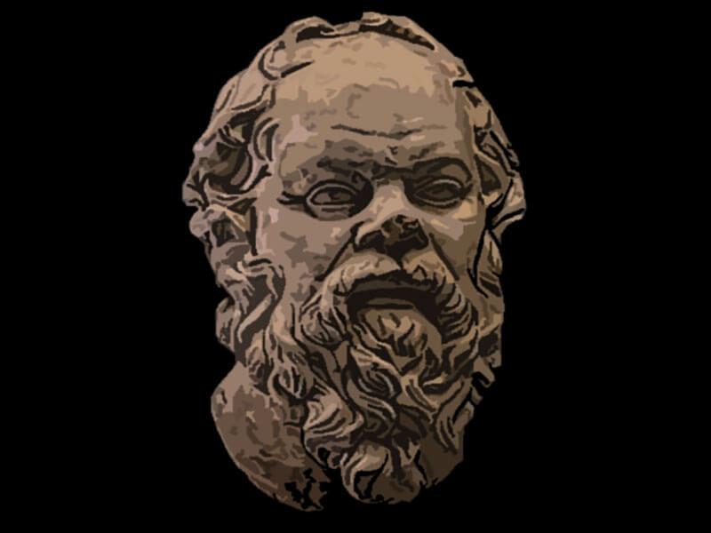 Socrate celebre filosofo
