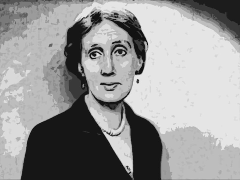 Virginia Woolf celebre scrittrice